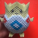 Pikachu Origami 3d Origami 3d Togepi Pokemon Origami 3d Pinterest Origami 3d