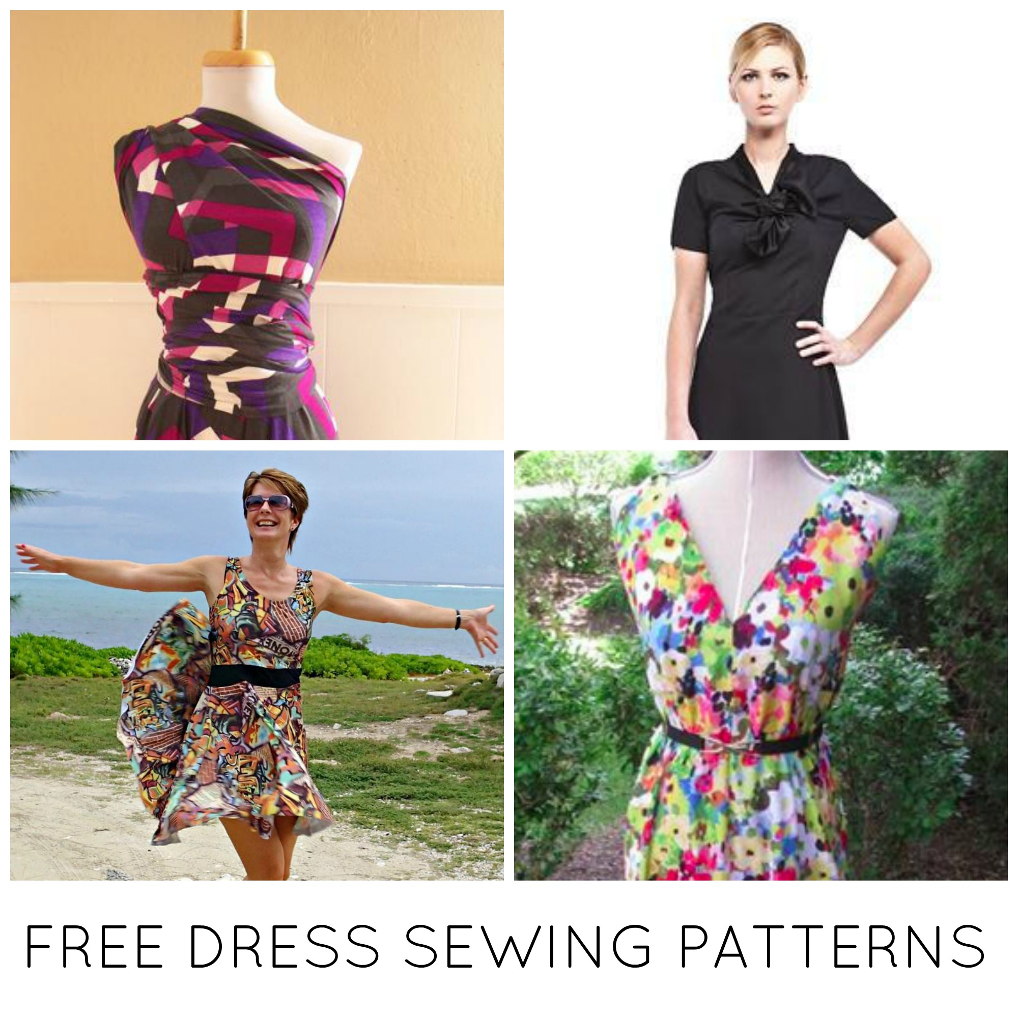 Sewing Patterns For Beginners 10 Free Dress Sewing Patterns Youll Love