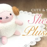 Sewing Plushies Tutorials Diy Perfect Sheep Plush Tutorial Budget Crafting With Amazing