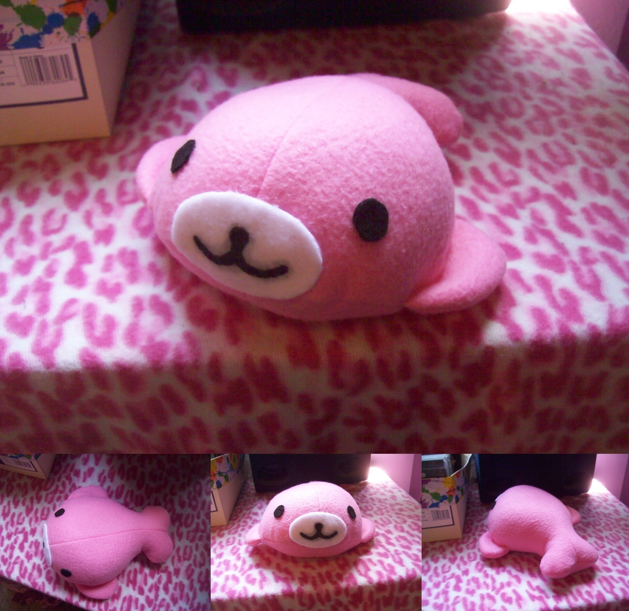 Sewing Plushies Tutorials Mamegoma Plush Tutorial And Pattern Link A Manatee Plushie