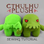 Sewing Plushies Tutorials Sewing Tutorial Cthulhu Plush Sewdesune On Deviantart