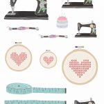 Sewing Printables Free Vintage Free Vintage Sewing Printables From Papercraft Inspirations 173