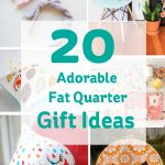 Sewing Project Ideas 20 Adorable Fat Quarter Gift Ideas Hobcraft Blog