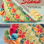 Sewing Project Ideas Ipad Stand Tutorial Sewn Up