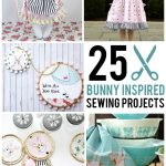Sewing Project Ideas More Than 25 Bunny Inspired Sewing Projects The Polka Dot Chair