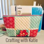 Sewing Project Ideas Pioneer Woman Placemat Turned Into Zipper Pouch Sewing 3