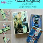Sewing Scrap Projects How To Make 5 Minute Fabric Scrap Bookmark Sewing Tutorial