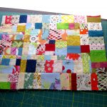 Sewing Scrap Projects How To Make Tutorial Scraptacularity Part I Working With On Grain Scraps