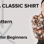 Sewing Tshirt Pattern How To Sew A Shirt Sewing For Beginners Part 1 Youtube