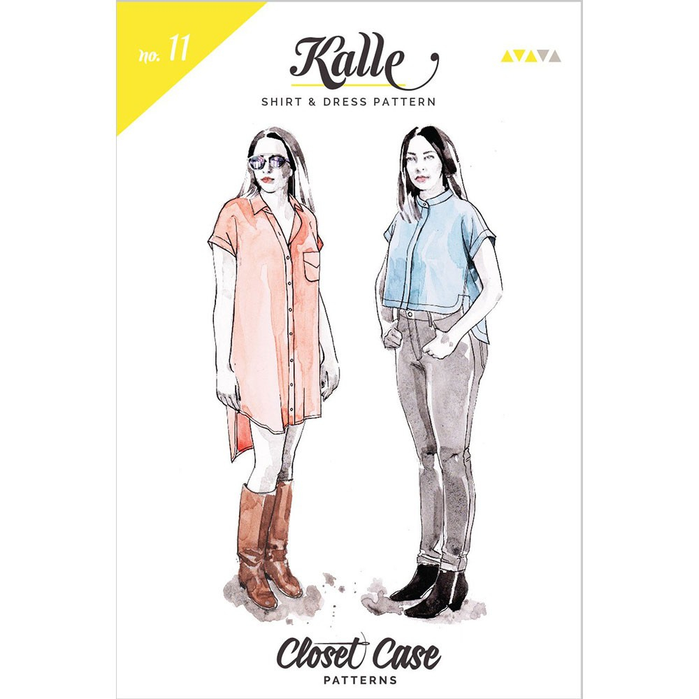 Sewing Tshirt Pattern Kalle Shirt And Dress Closet Case Sewing Pattern 11 Sew Essential