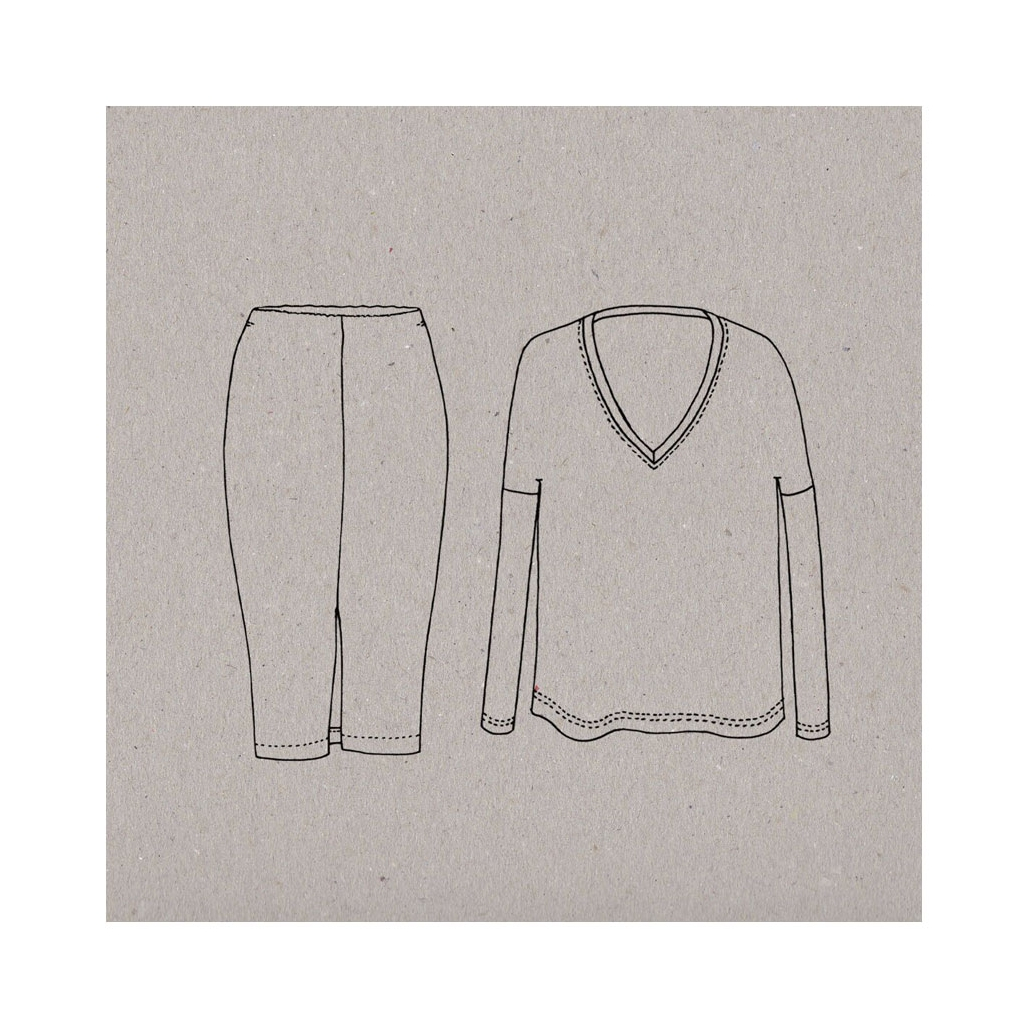 Sewing Tshirt Pattern Sewing Pattern Aime Comme Marie Aime Comme Maddy Tee Shirt And