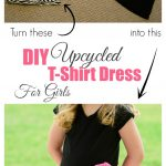Sewing Upcycled Clothing Easy Diy Diy Upcycled T Shirt Dress For Girls Almost Supermom