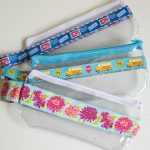 Sewing Vinyl Bags Zipper Pouch 9 Name Sewing Ribbon And Vinyl Zipper Pouches Sewing Pouches