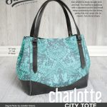 Sewing Vinyl Bags Zipper Pouch Charlotte City Tote Swoon Sewing Patterns