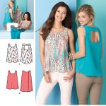 Simplicity Sewing Patterns Simplicity 1589 Misses Tops