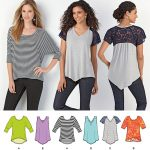 Simplicity Sewing Patterns Simplicity Misses Sewing Pattern 1463 Knit Tops 39363514633 Ebay
