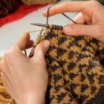 Stranded Knitting Patterns Free How To Knit With Two Colors Knitting Youtube