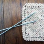 Washcloth Knitting Pattern Simple Learn To Knit Simple Dishcloth Knitting For Beginners Youtube