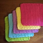 Washcloth Knitting Pattern Simple Simple And Practical Dish Cloth Crochet Pattern Stitch11