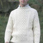 Aran Knitting Patterns Free Gents Hand Knitted Luxury Aran Sweater Torridon Scotweb