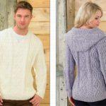 Aran Knitting Patterns Free Sweaters Jb214 Knitting Pattern James C Brett Aran Sale