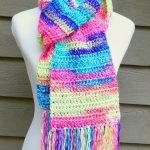 Begginer Crochet Patterns Free Fiber Flux Free Crochet Patternabsolute Beginner Crochet Scarf