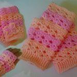 Begginer Crochet Patterns Free Free Crochet Pattern How To Crochet Fingerless Gloves Wristers For