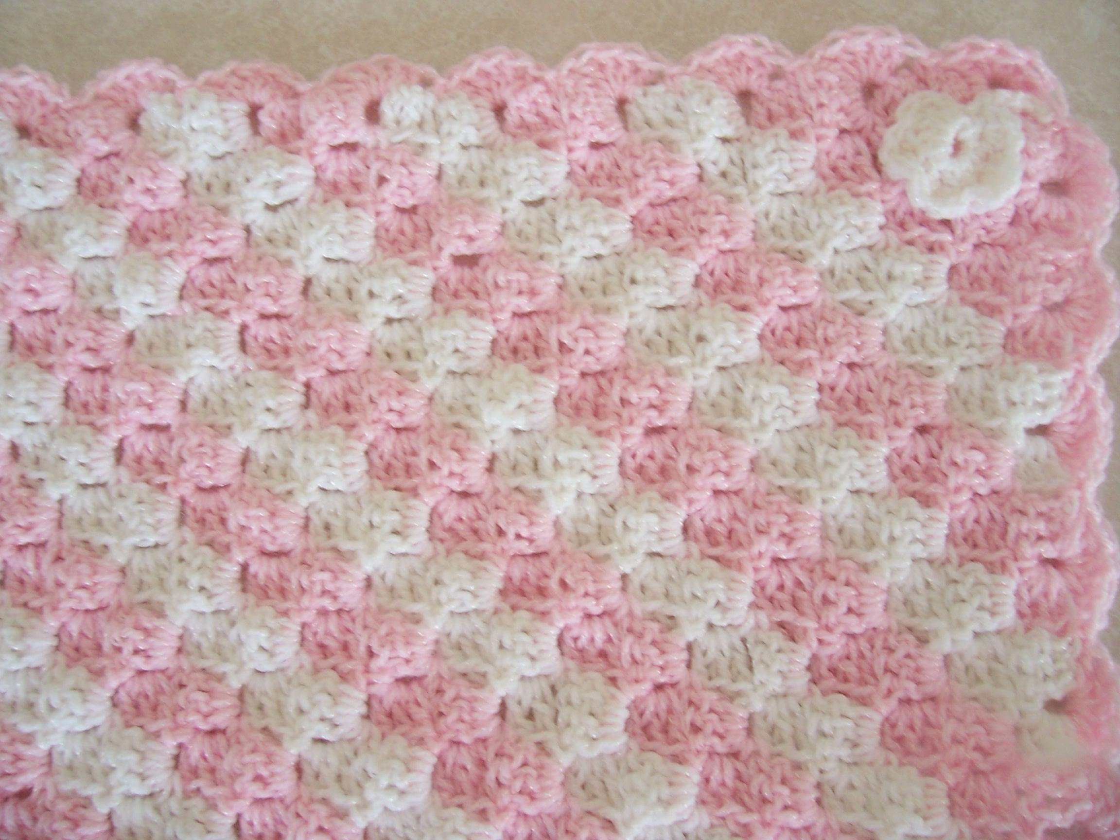 Begginer Crochet Projects Baby Blankets Crochet Ba Girl Blanket Patterns Crochet And Knit