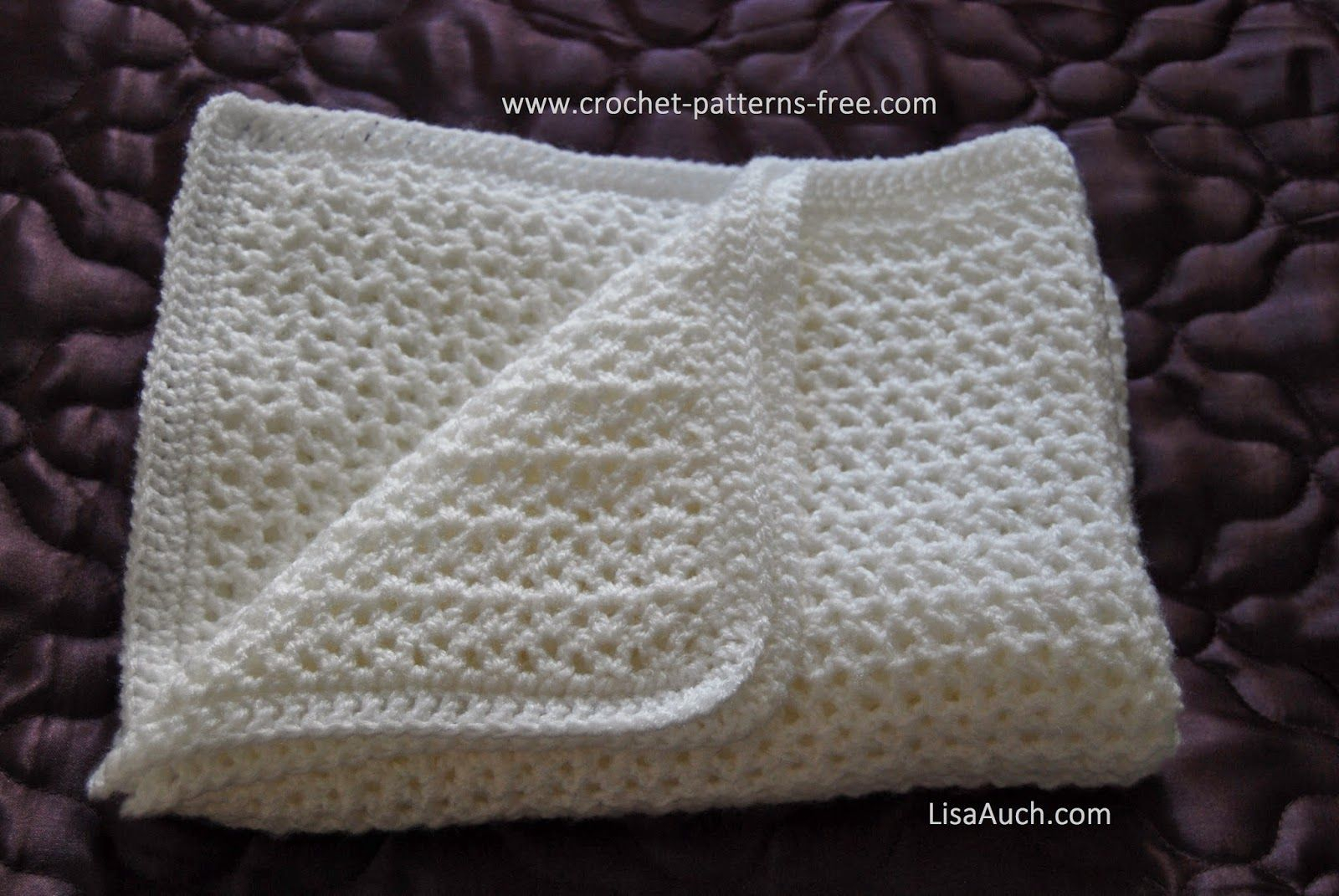 Begginer Crochet Projects Baby Blankets How To Crochet An Easy Ba Blanket Ideal For Beginners Free