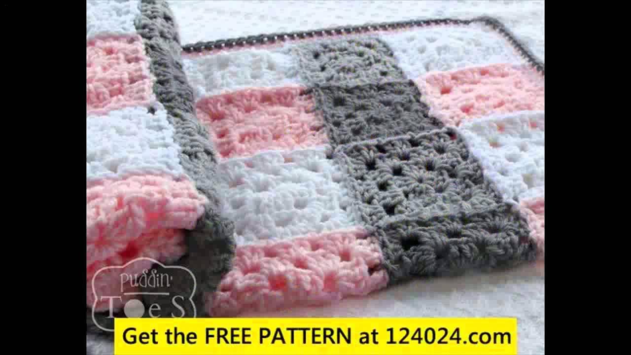 Begginer Crochet Projects Baby Blankets Youtube Crocheting Ba Blanket Wmperm For