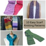 Begginer Knitting Projects Learning 10 Easy Scarf Knitting Patterns For Beginners