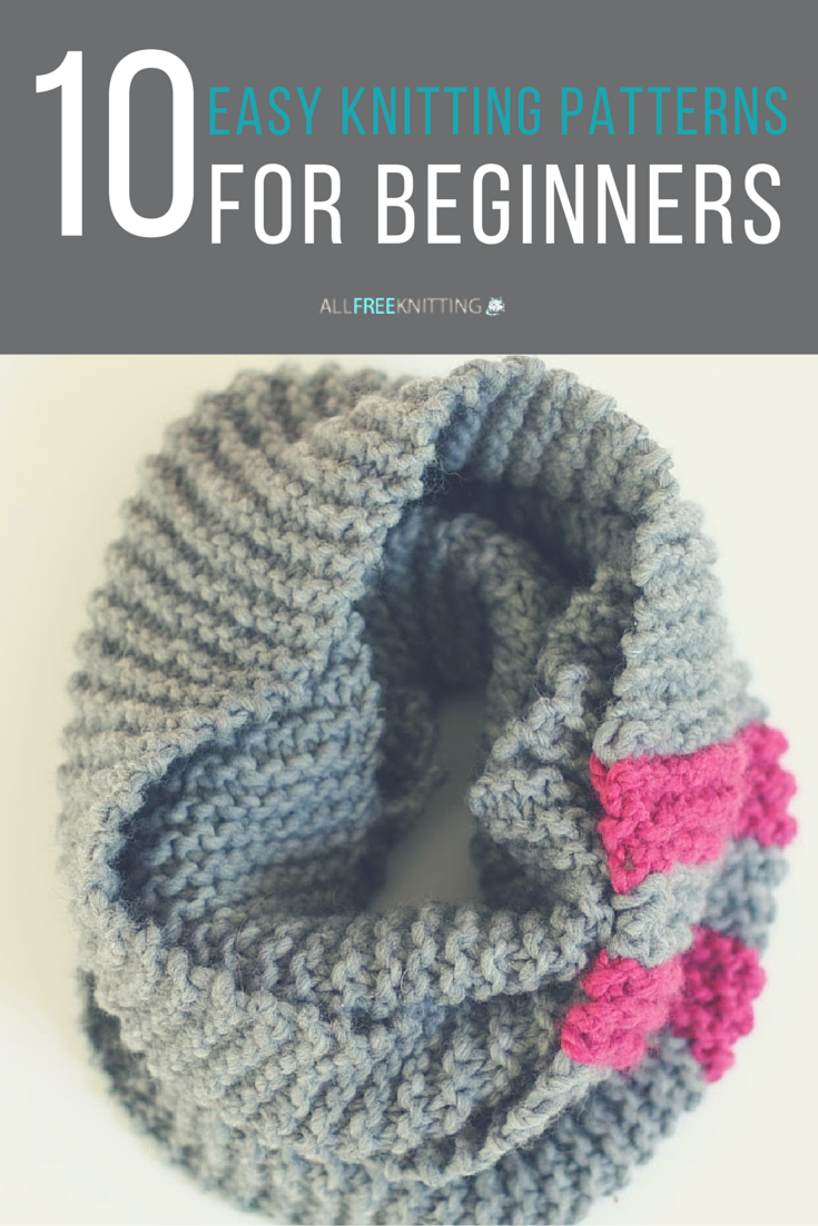 Begginer Knitting Projects Learning Easy Knitting Patterns For Beginners Knitting Pinterest