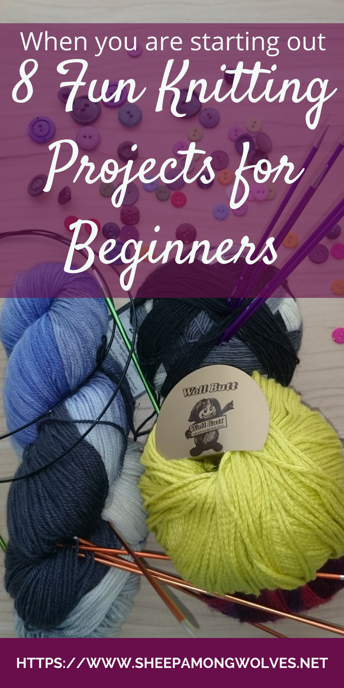 Begginer Knitting Projects Learning When You Are Starting Out 8 Fun Beginner Knitting Projects Sheep