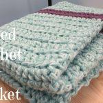 Beginner Crochet Projects Baby Blankets Easy Striped Crochet Ba Blanket Youtube