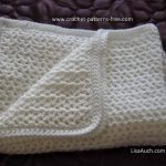 Beginner Crochet Projects Baby Blankets How To Crochet An Easy Ba Blanket Ideal For Beginners Free