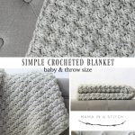 Beginner Crochet Projects Baby Blankets Simple Crocheted Blanket Go To Pattern Mama In A Stitch