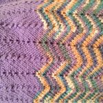 Color Knitting Patterns Beautiful 8 Chevron Ba Blanket Knitting Patterns The Funky Stitch