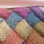 Color Knitting Patterns Beautiful Lilly My Cat Entrelac Tutorial And Happy New Year Wishes