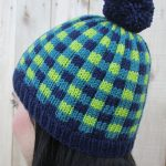 Colorwork Knitting Patterns Hats Free Knitting Pattern For Cozy Plaid Hat This Pattern Uses