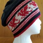 Colorwork Knitting Patterns Hats Free Knitting Pattern For Pendragon Slouch Hat This Slouch Hat