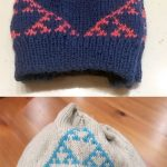 Colorwork Knitting Patterns Hats Free Knitting Pattern For Sierpinski Fractal Beanie This Hat