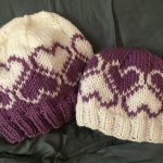 Colorwork Knitting Patterns Hats Heart Knitting Patterns Free Knitting Patterns Pinterest