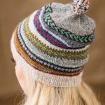 Colorwork Knitting Patterns Hats Knitting Pattern For Tilting Fair Isle Hat And Mitts Bands Of