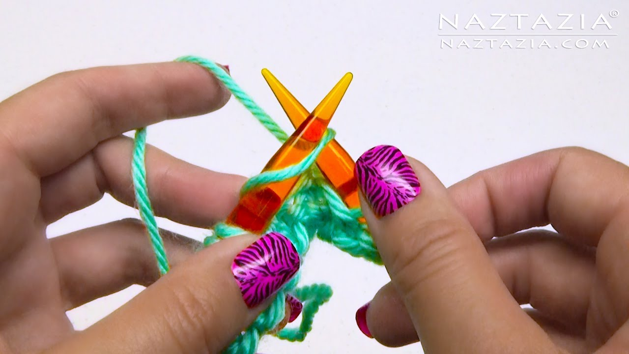 Continental Knitting For Beginners Continental Knitting Learn How To Knit The Knit Stitch Purl