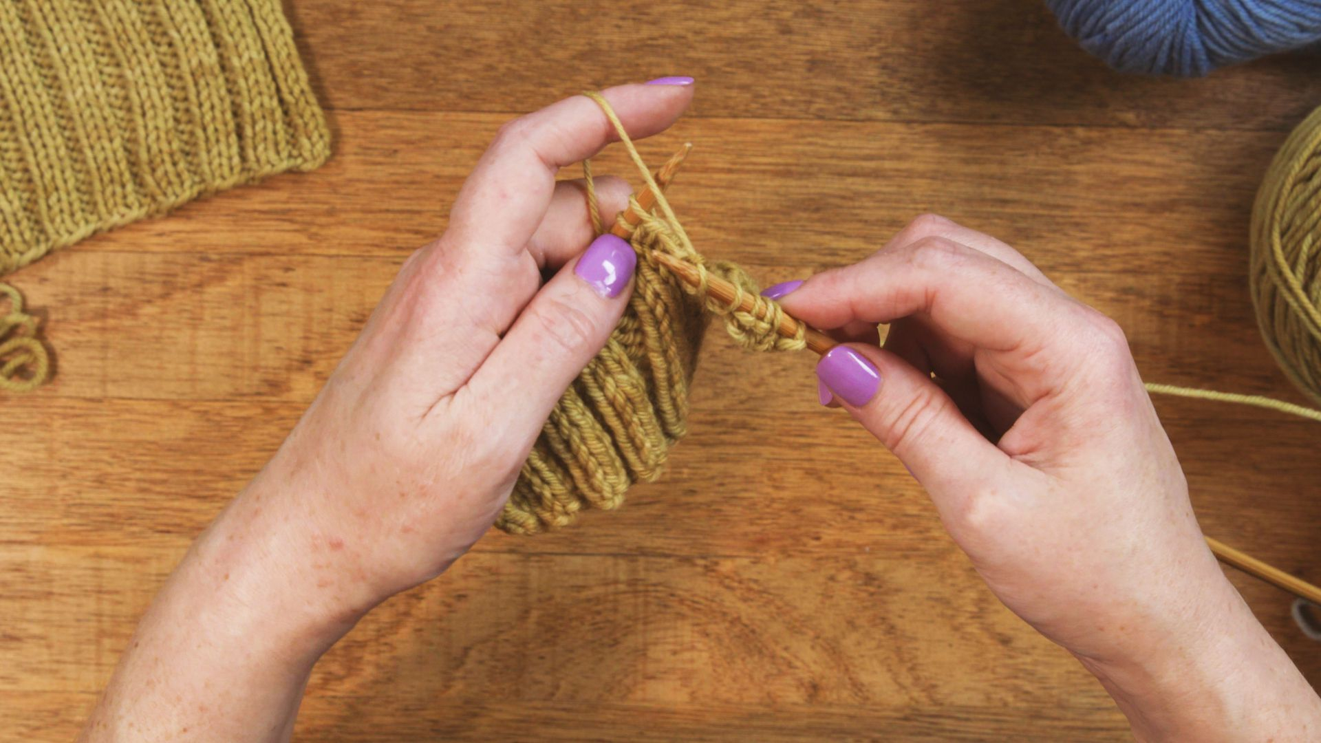 Continental Knitting Purl Continental Knitting Learn How To Knit In This Style