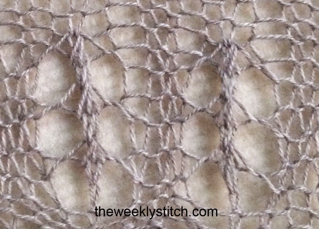 Continental Knitting Tutorial Videos Continental Spanish Window Pattern L And Video Tutorial The