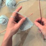 Continental Knitting Tutorial Videos Knit One Purl One Ribbing Tutoriala Continental Knitting Lesson
