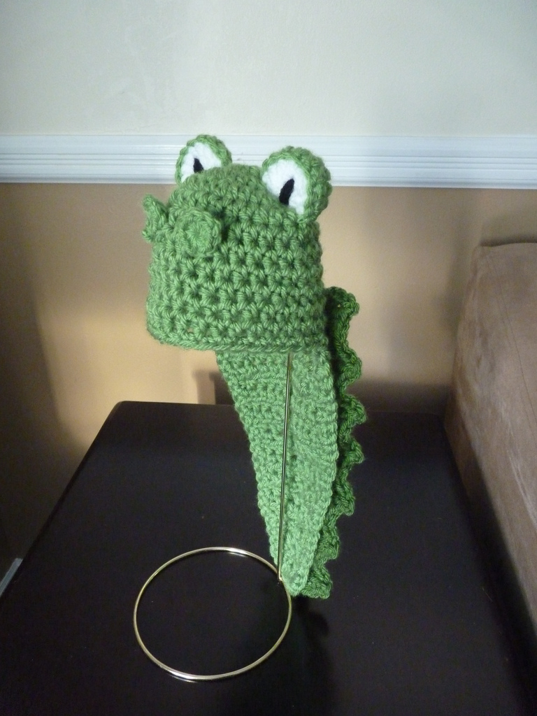 Crochet Alligator Hat Alligator Hat See Profile For More Info Cricket Creations Flickr