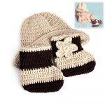 Crochet Alligator Hat Ba Newborn Photography Photo Cap Shoe Costume Cowboy Prop Knit