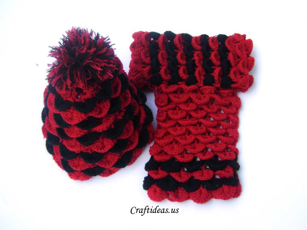 Crochet Alligator Hat Crochet Patterns Galore Crochet Crocodile Hat And Scarf For Kids